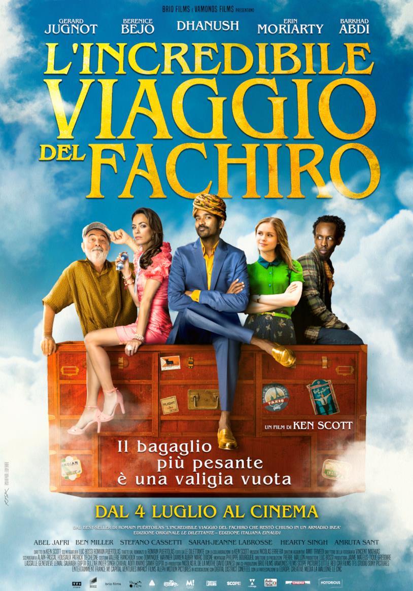 Poster italiano de L'incredibile viaggio del fachiro