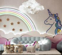 Il soggiorno della Unicorn House