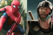 Spider-Man (Tom Holland) e Thor (Chris Hemsworth) del Marvel Cinematic Universe