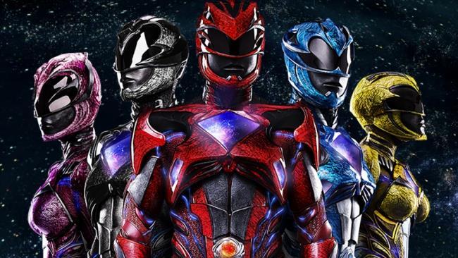 I cinque Power Rangers protagonisti del film