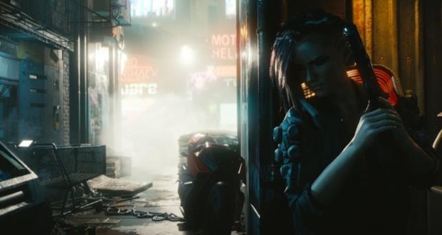 Uno dei personaggi di Cyberpunk 2077
