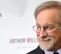 Primo piano di Steven Spielberg