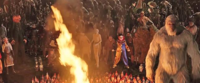 Tutti i mostri presenti nel primo film