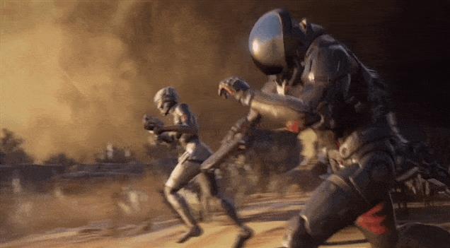 Uno spezzone del trailer di Mass Effect: Andromeda
