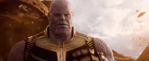 Thanos aggiunge due Gemme dell'Infinito al suo Guanto