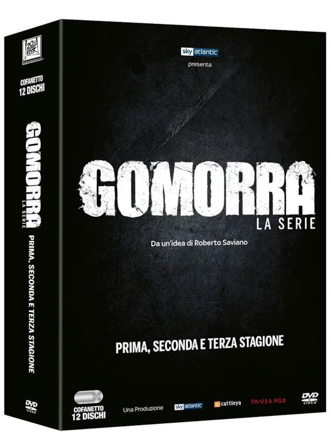 Gomorra - La serie in DVD, tutte e tre le stagioni
