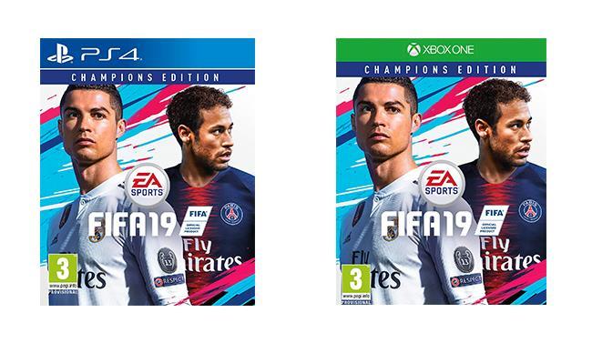 Packshot di FIFA 2019