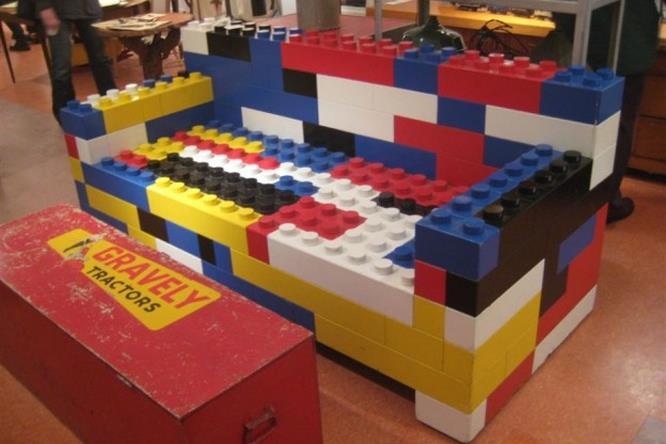 Costruzioni LEGO fai-da-te: divano