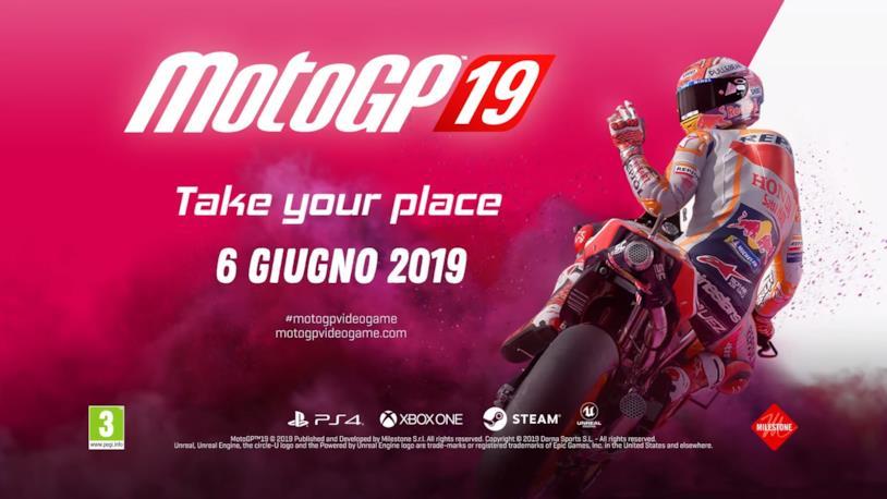 Milestone lancia sul mercato il suo MotoGP 19