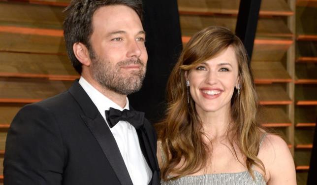 Un sorridente ritratto di Ben Affleck e Jennifer Garner