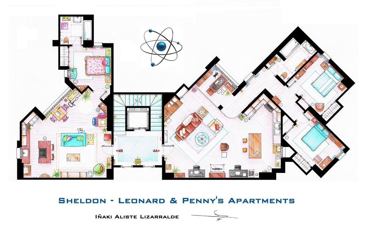 """Se doveste mai mettere piede nella casa più nerd della TV ricordate una cosa: """"Quel posto è di Sheldon Cooper!"""""""