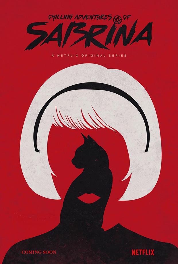 Chilling Adventures of Sabrina: il primo poster dello show