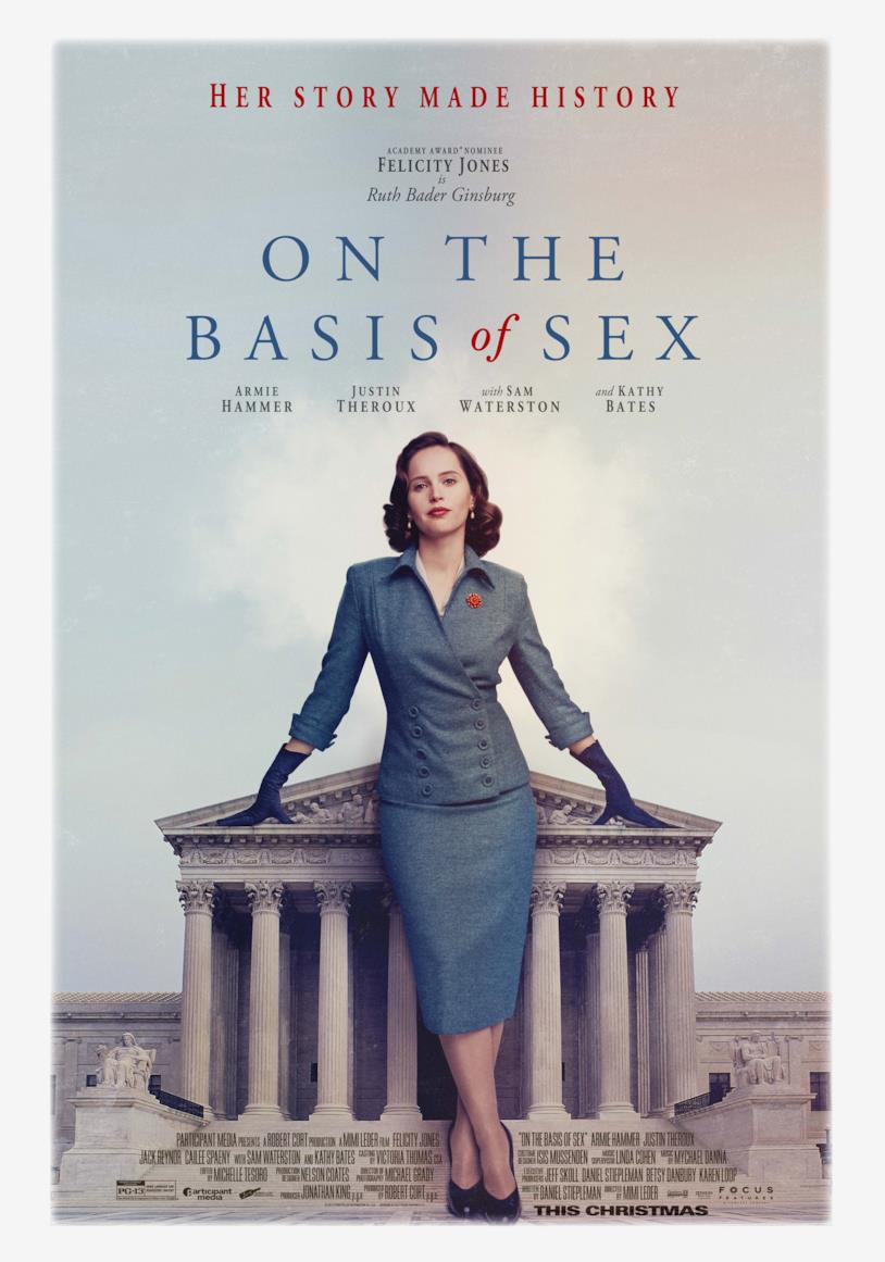 Poster del film On the Basis of Sex