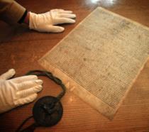 Una copia rara della Magna Carta