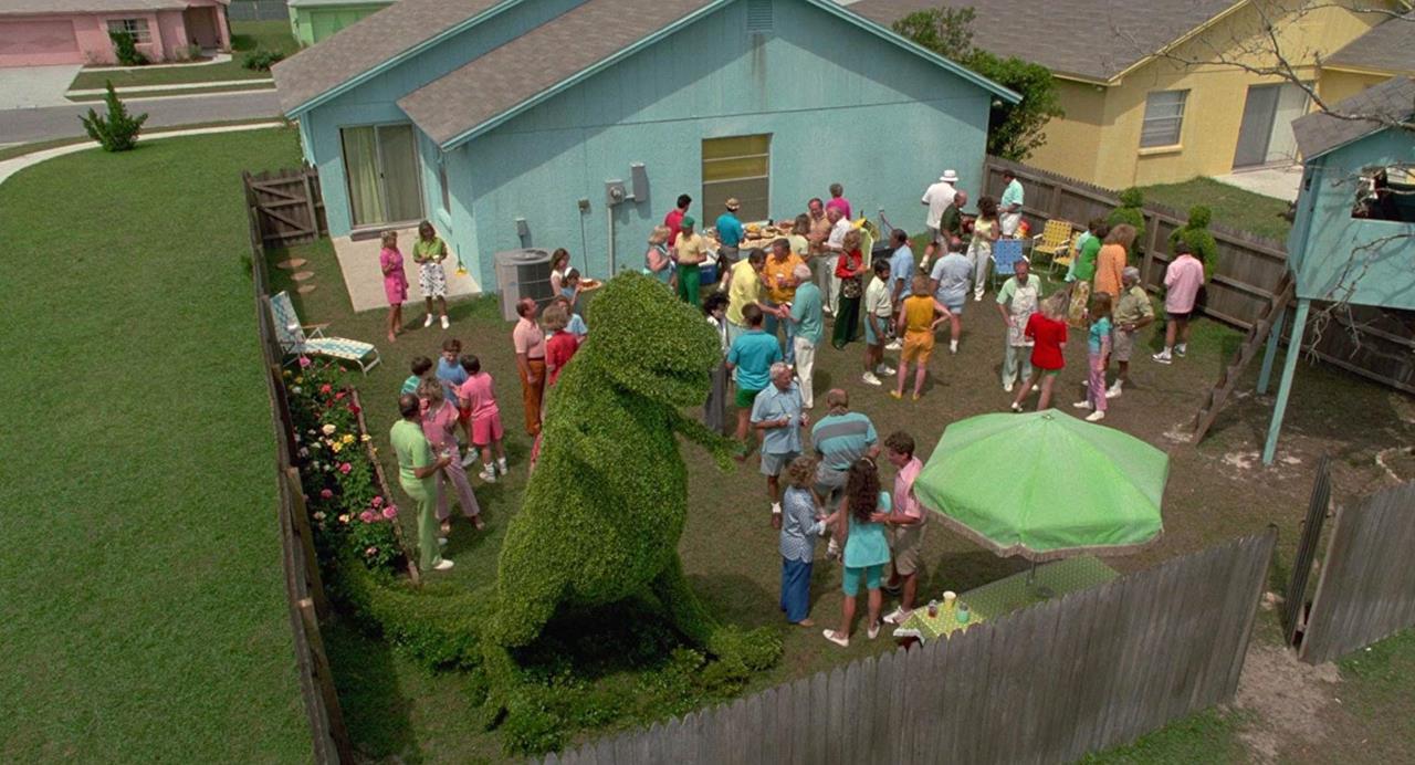 Un party con i vicini di casa