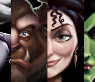 Alcuni iconici villain Disney