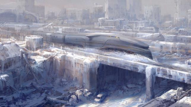 Snowpiercer, una scena dall'originale film del 2013 diretto dal regista Bong Joon Ho