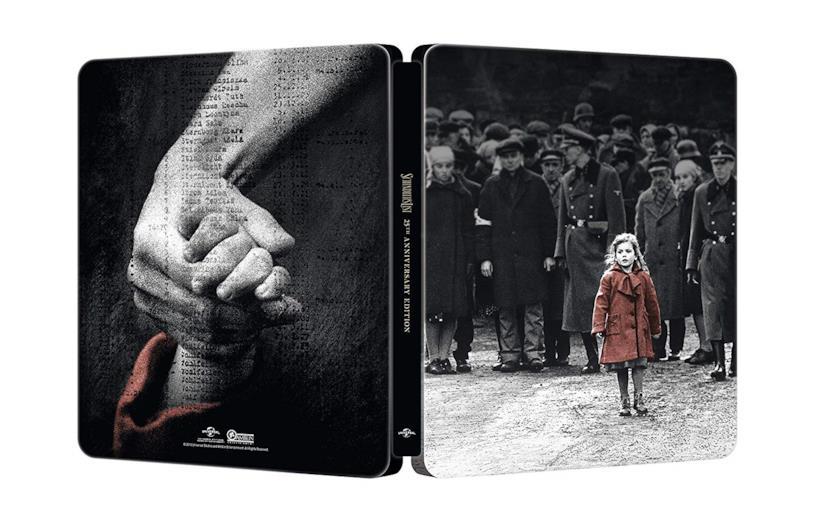Lo steelbook di Schindler's List - 25° Anniversario