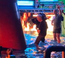 James Cameron riprende una scena di Avatar