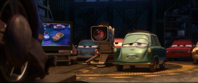 Cars 2, Professor Zeta Zündapp e i suoi catorci