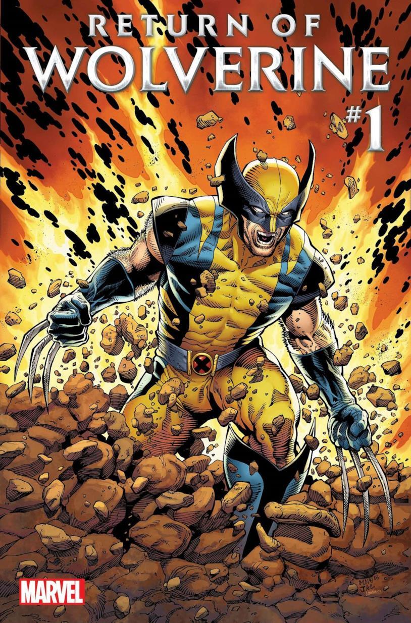 La cover del primo numero di Return of Wolverine
