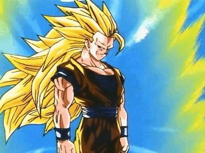 Goku SSj3 contro Majin Bu