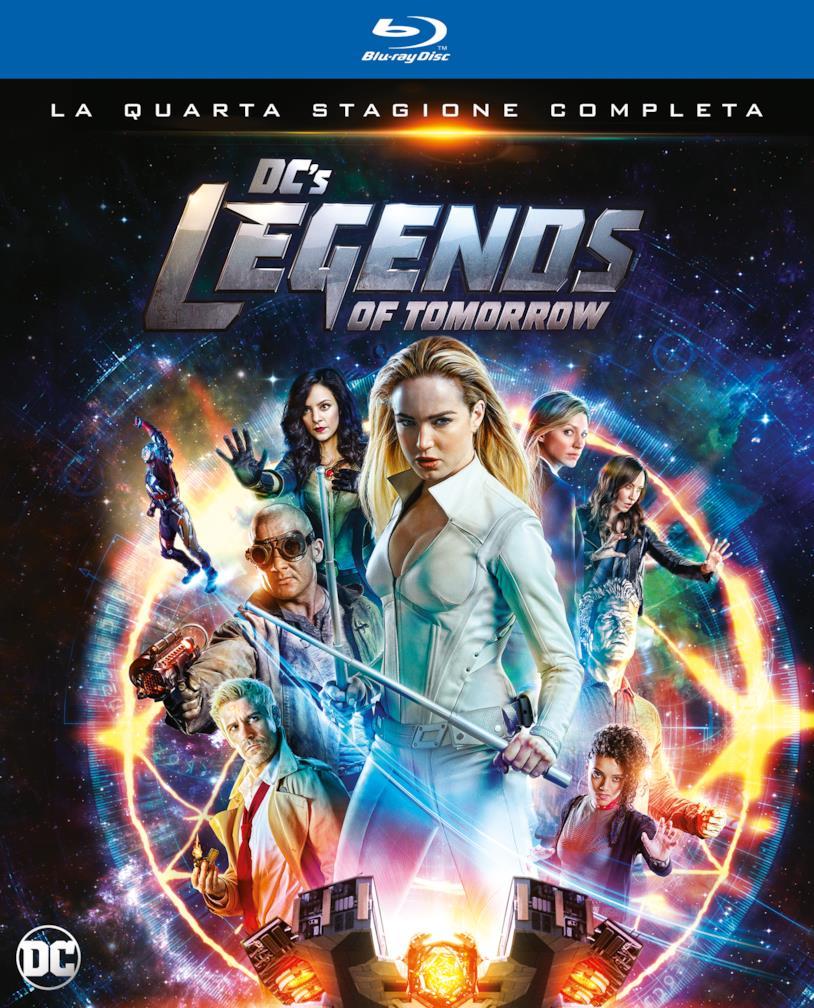 Dc's Legends of Tomorrow: dal 5 marzo arriva in home video la quarta stagione