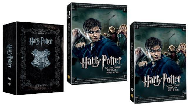 Cofanetti DVD e Blu ray 20 anni di Harry Potter