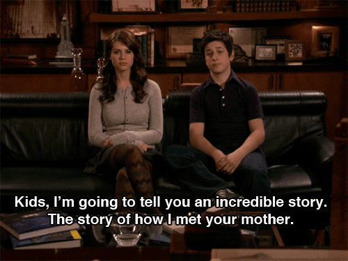 Ted racconta la storia di come ha conosciuto la madre dei suoi figli