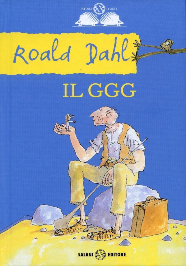 La copertina del libro Il GGG di Roald Dahl