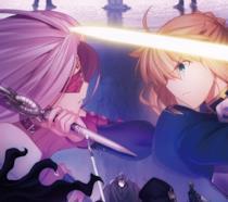 Due servant di Fate/Stay Night