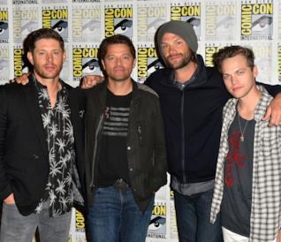 In primo piano i protagonisti di Supernatural al Comic-Con di San Diego