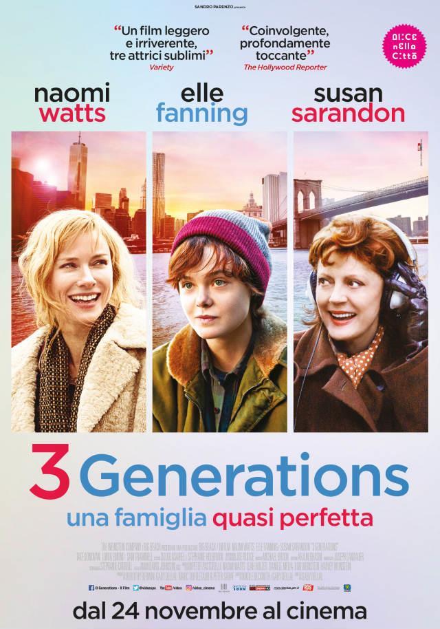 La locandina di 3 Generations - Una famiglia quasi perfetta