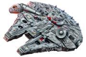Galleria del set LEGO Millennium Falcon comprensivo di minifigure