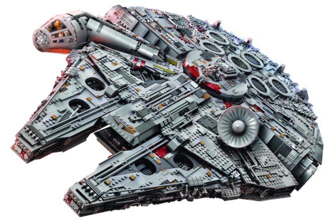 Il nuovo set LEGO Millennium Falcon