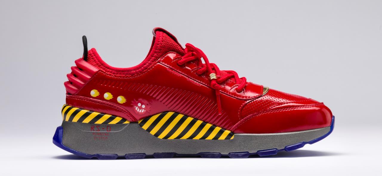 Le scarpe dedicate a Sonic e al Dr. Eggman arrivano il
