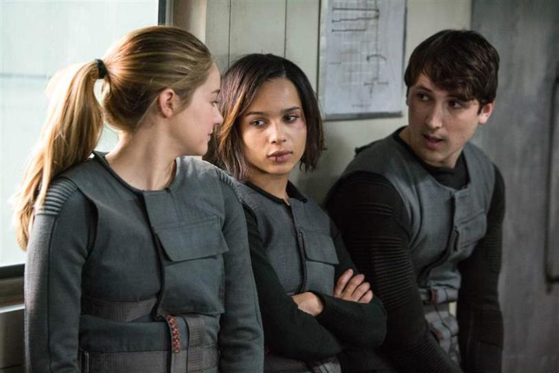 Divergent, una scena del film
