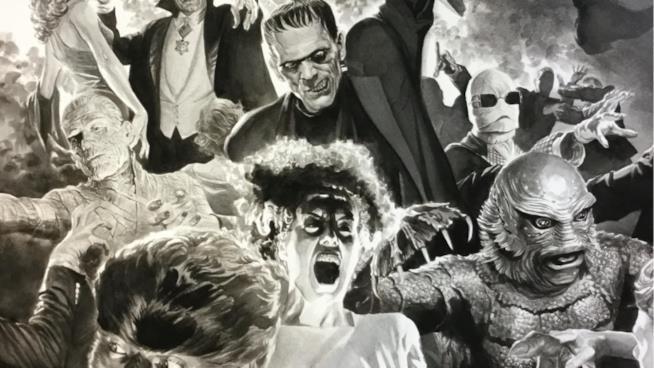 Gli iconici personaggi dei classici horror Universal Pictures