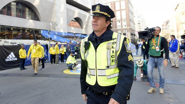Mark Wahlberg nel film Patriots Day