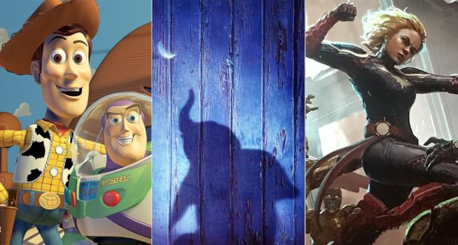 I protagonisti di Toy Story 4,Dumbo, Captain Marvel