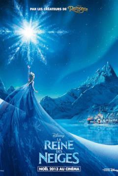 Elsa nel poster La Reine des Neiges