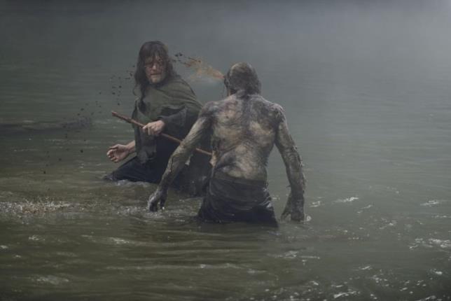 The Walking Dead: Daryl e lo zombie
