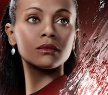 Uhura nel character poster