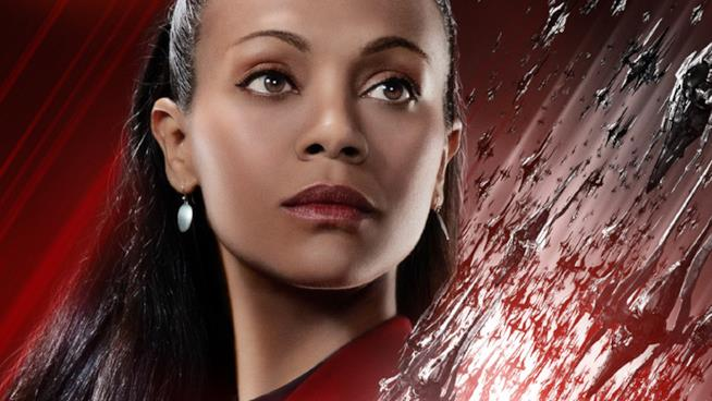 Uhura nel character poster