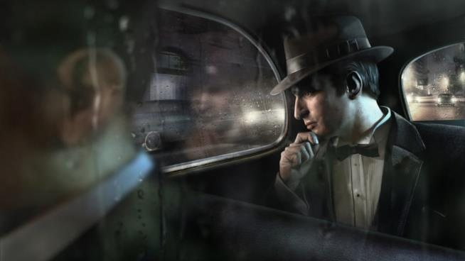 Un artwork del primo capitolo di Mafia