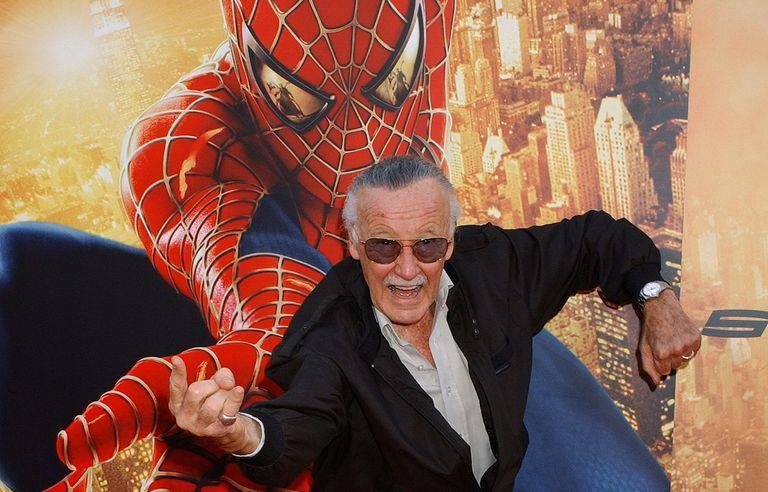 Stan Lee alla premiere di Spider-Man 2 di Sam Raimi