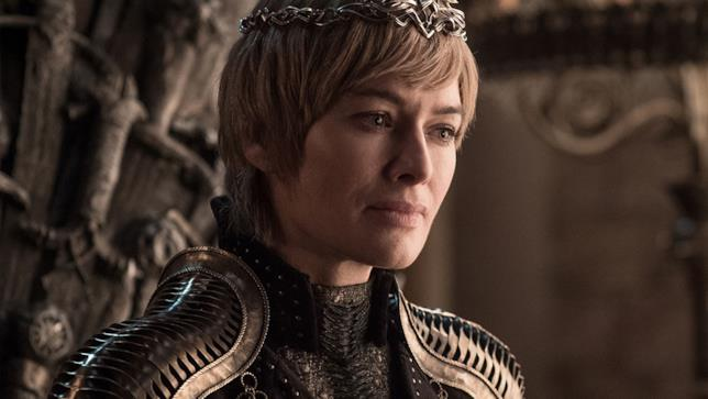 Lena Headey nei panni di Cersei Lannister in Game of Thrones 8
