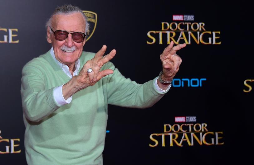 Stan Lee alla première di Doctor Strange