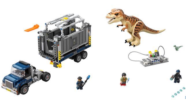 Dettagli del set LEGO Trasporto del T. rex