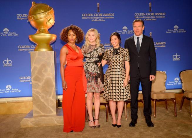Angela Bassett, Chloë Grace Moretz, America Ferrera, Dennis Quaid pronti ad annunciare le nomination Golden Globes 2016